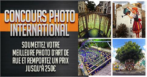 Soumettez votre meilleure Photo D´art De Rue et remportez un prix jusqu'à 250€